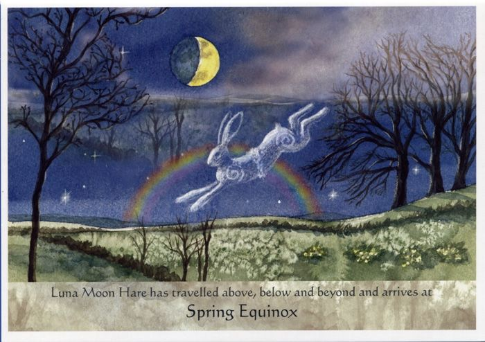 Straight from the bestselling Luna Moon Hare: A Magical Journey With The Goddess by Wendy Andrew.