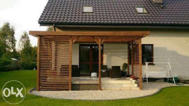 pergola taras altana domek drewutnia zadaszenie patio Mstów - image 3