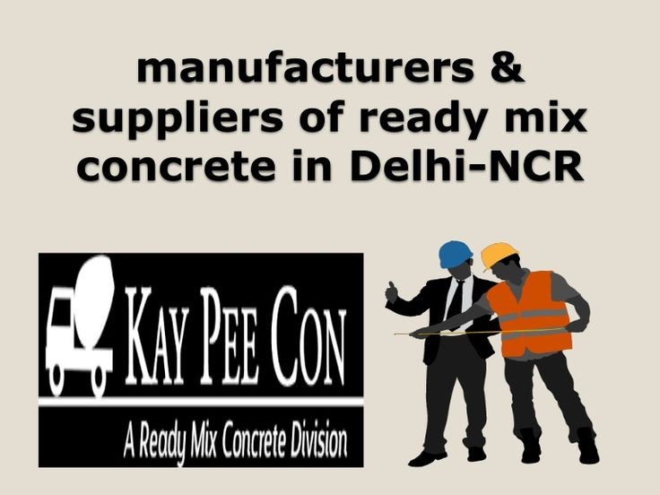 Make Things Easier With Best Ready Mix Concrete Supplier