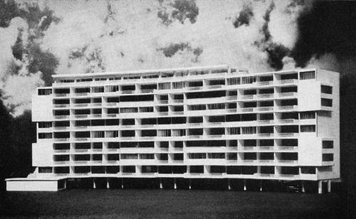 interbau 57, walter gropius, hansaviertel, berlin, 1957