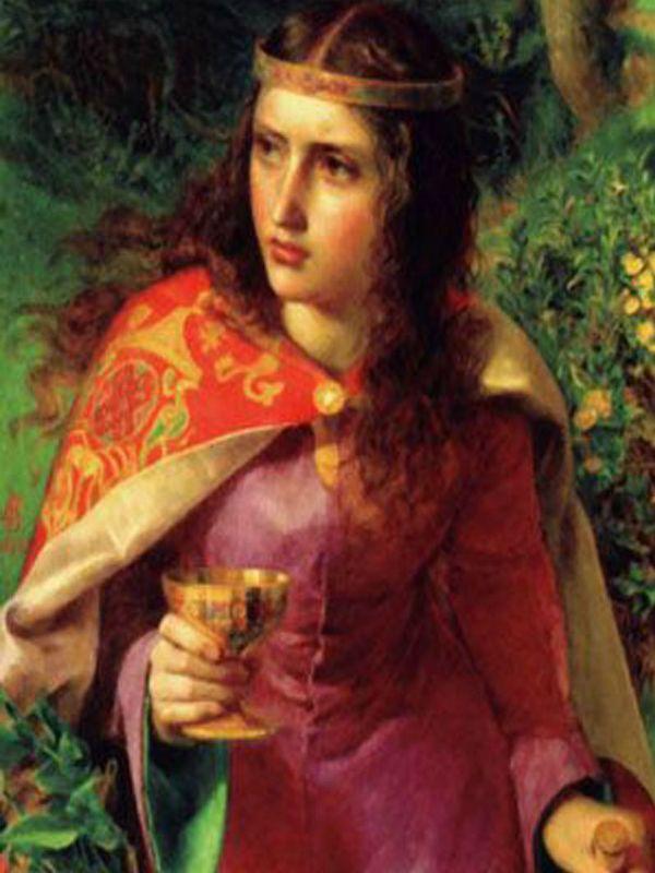 Leonor da Aquitânia -  Foi Duquesa da Aquitânia e da Gasconha, Condessa de Poitiers e rainha consorte de França e Inglaterra. Era a filha mais velha de Guilherme X, o Santo, a quem sucedeu em 1137. A sua fortuna pessoal e o seu apurado sentido político fizeram-na uma das mulheres mais poderosas e influentes da Idade Média.