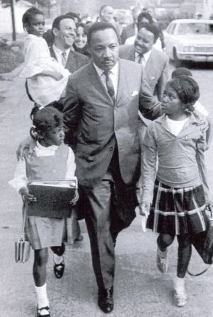Martin Luther King Jr. was a Baptist pastor in Atlanta, who when faced with the racial injustices of his time used non-violent means to improve the civil rights of African Americans. In 1964, Dr. King became the youngest person to receive the Nobel Peace Prize for his work to end racial segregation and racial discrimination through civil disobedience and other nonviolent means.