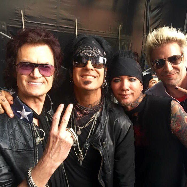Always a pleasure to hang and spend time with my dear friend Nikki Sixx here at HELLFEST 2016 with DjASHBA & James Michael of SixxAM ~ breathing on our own... on the right side of the grass.