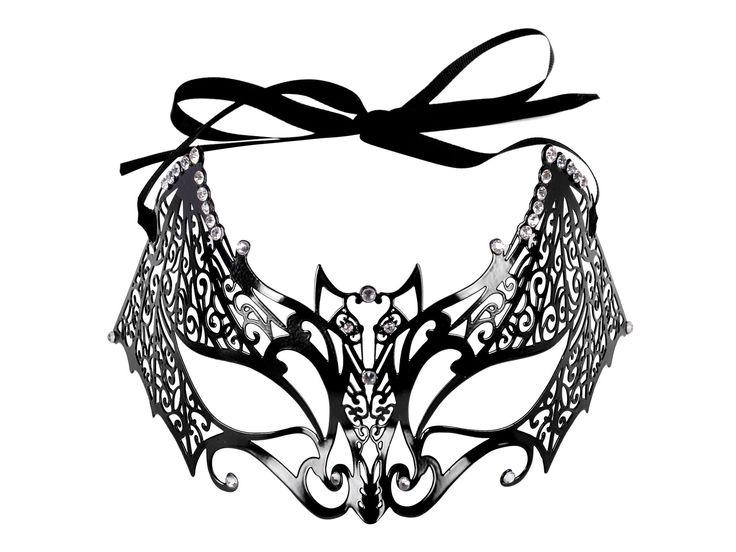 Retro Masquerade Bat Mask