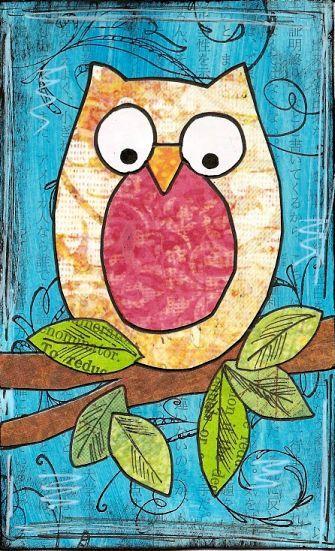 Owl Skinny by PaperScraps, via Flickr