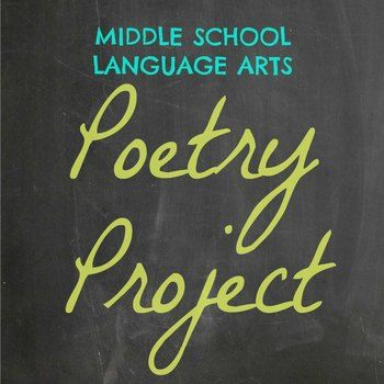Language Arts Poetry Project   This project incorporates reading, writing, and research skills and helps students to demonstrate mastery and understanding of poetry components. For this project, students choose a topic as their starting point. They then locate (and cite!) three published poems and include analysis of each poem. Next, students write three poems of their own and also research their favorite poet. All of this information is compiled into a creative and organized booklet.
