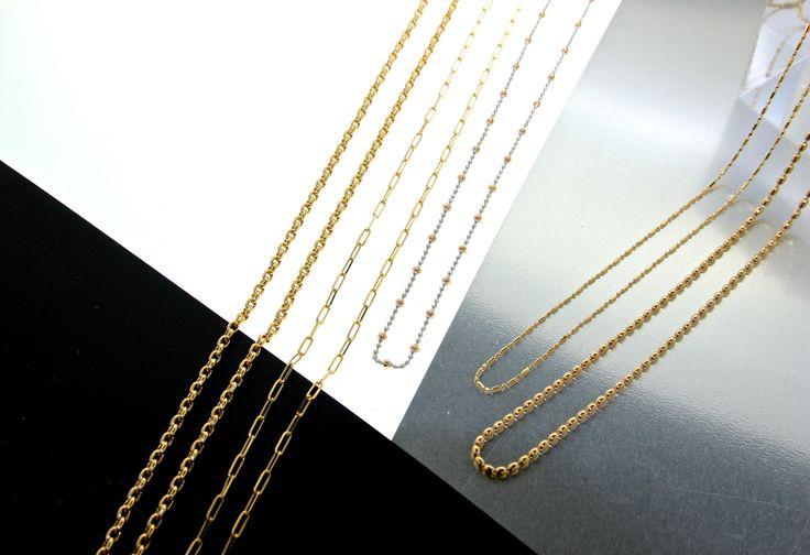 CHAIN  NECKLACE GOLD UNOAERRE http://www.unoaerre.jp/index.html #Unoaerre #Chain #Necklace #Gold #18K