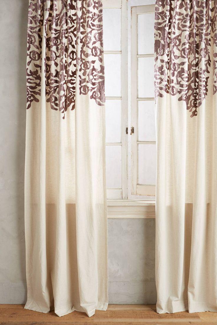 Victorian velvet curtains - Vining Velvet Curtain
