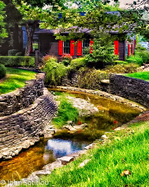 "Maker's Mark Distillery, Kentucky. The grounds are beautiful and well-landscaped. You can tour the facilities also. The drive to Loretto, KY is something to experience. The tour & tasting is $7 per adult. The loc is 3350 Burks Spring Rd. in Loretto, Ky., but for some reason the street name pops up in GPS' as ""Burkes Spring"" Rd. Also, if your GPS insists on trying to take you to our business office on Dutchmans Lane or Maker's Mark® Bourbon Lounge just go to the directions on the website."