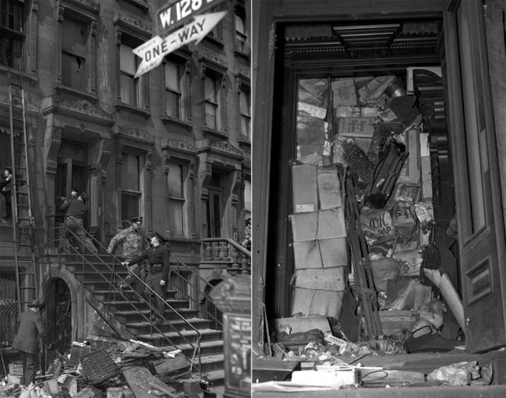 Collyer brothers brownstone, 1947 - Photos - Inside the Collyer brothers' brownstone - NY Daily News