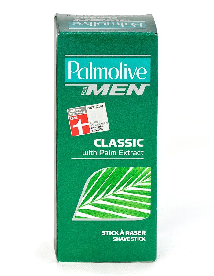 PALMOLIVE Shave Stick The soft Palmolive Classic Shave Stick is enriched with Palm extract, well known for its hydrating properties. Palmolive for Men Classic helps protect your skin from shaving irritations.Please note im http://www.MightGet.com/january-2017-11/palmolive-shave-stick.asp