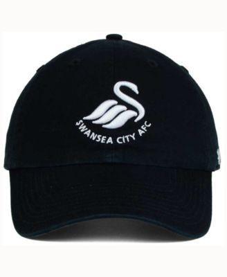 '47 Brand Swansea City Afc Clean Up Cap - Black Adjustable