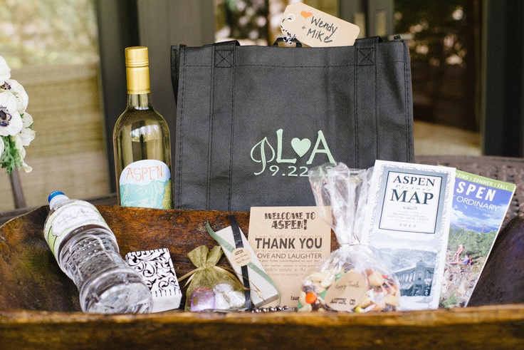 Colorado Wedding Gift Bag Ideas : ... wedding planning welcome bags gift bags destination weddings bluebird