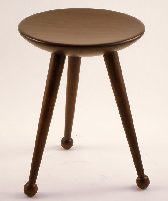 Satellite Inspired Stool, Or Perhaps Drumstick Legs? By Alejandro  Palandjoglou