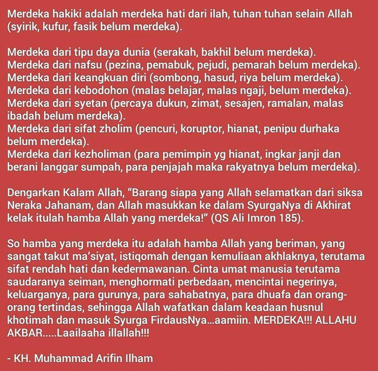 Kutipan Islam - Ust. Muhammad Arifin Ilham