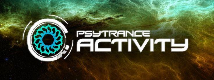 PSYTRANCE ACTIVITY Logo Design By Alex Neuf