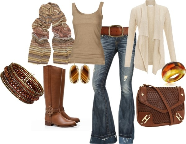 """Fall"" by bleonard on Polyvore: Fall Clothing, Fall Clothes, Style, Dream Closet, Fall Time, Fall Outfits, Brown, Fall Fashion, Fall Winter"