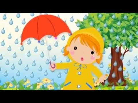 regen stop er mee kinderliedjes regen knutselen weer