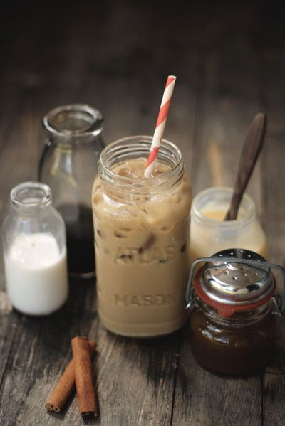 Pumpkin ice coffeeSpices Coffe, Pumpkin Spices, Yummy Drinks, Pumpkin Ice, Spices Vietnam, Ice Coffee, Iced Coffee, Mason Jars, Spices Ice