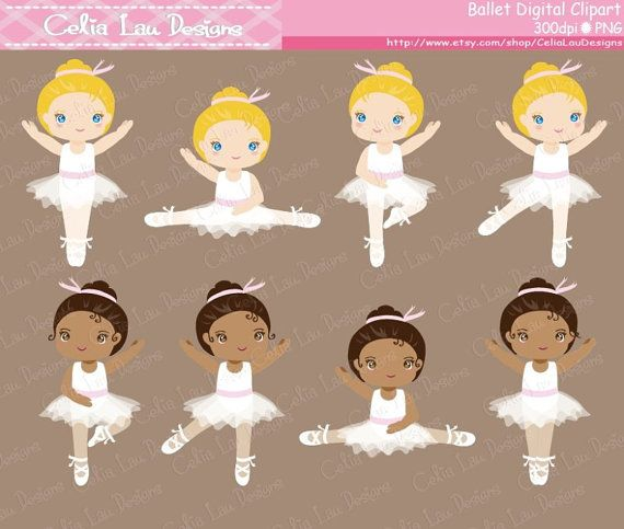 Ballerina , Ballet Clip art, Cute girl sport Digital Clipart , tutu clipartset includes 38 cute graphics.  Graphics are PERFECT for the Scrapbooking, Cards Design, Stickers, Paper Crafts, Web Design, T-shirt Design...More and more! Whatever your want!  [Details] ‧This is a digital download products ‧Saved in PNG format (with transparent backgrounds) at High Resolution 300 dpi (each graphics high approximate 10 - 12) ‧Watermark will not be on digital images purchased  These graphics are…