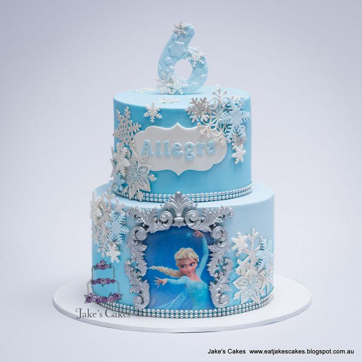 Frozen Cake Design Pinterest : Best 25+ Frozen cake designs ideas on Pinterest Frozen ...
