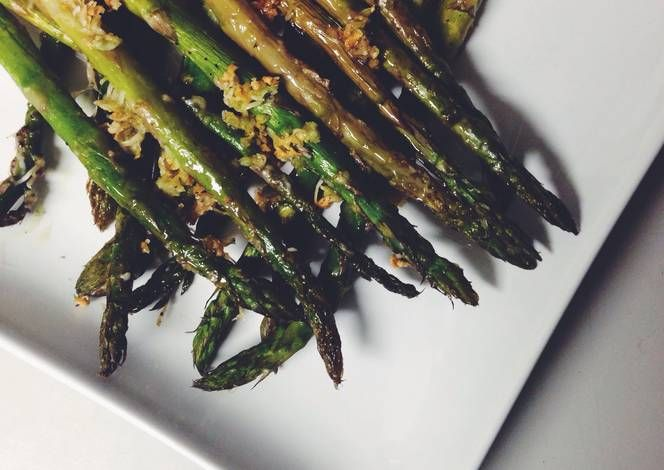 Oven roasted asparagus Recipe -  Are you ready to cook? Let's try to make Oven roasted asparagus in your home!