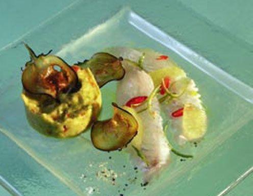 Ceviche vom Zander mit Guacamole - Rezept - ichkoche.at