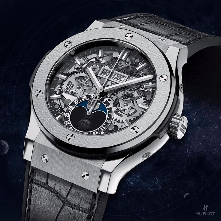 Hublot sur Instagram : Happy #autumnalequinox! #Hublot Classic Fusion Aerofusion Moonphase
