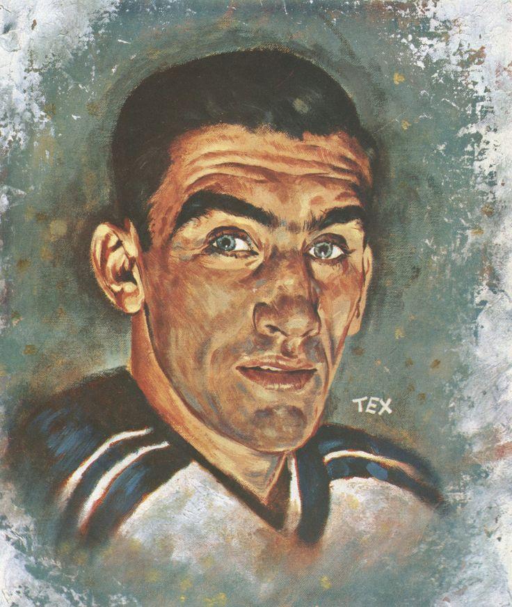 Manhattan Mauler: Tex Coulter's 1958 portrait of the Rangers' Lou Fontinato