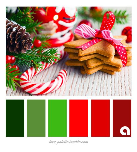 305 Best Cp 5 Christmas Colour Palettes Images On