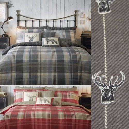 1000 images about nouvelle chambre on pinterest ralph lauren scandinavian christmas and nature - Housse de couette tartan ...