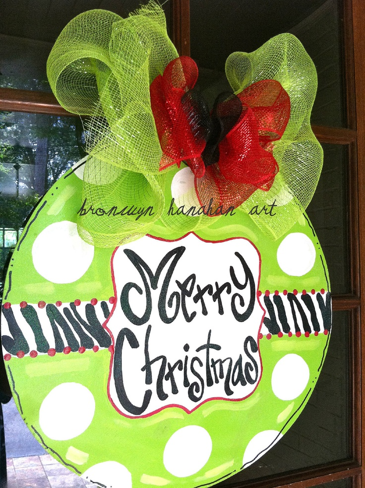 Ornament Door Hanger