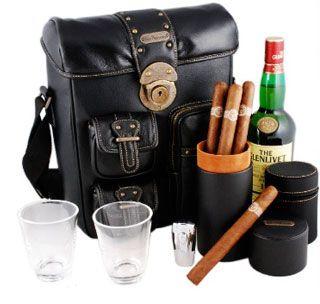 Cigar & Scotch travel Bar $270.