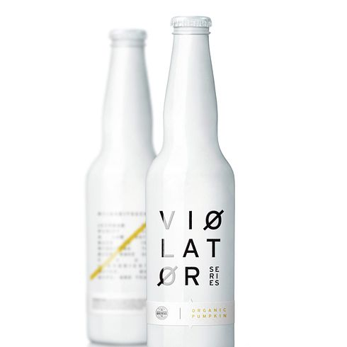 Violator, German Beer | The 25 Coolest Packaging Designs Of 2013