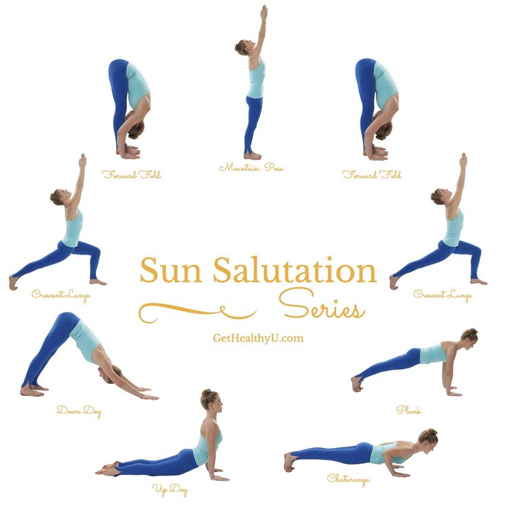 Lear how to do sun salutations to cultivate inner peace.
