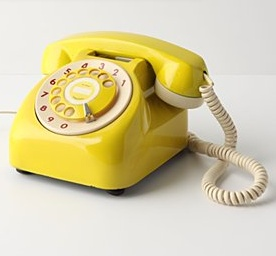 Cute phone for master bedroom! (Theme color yellow and neon green)