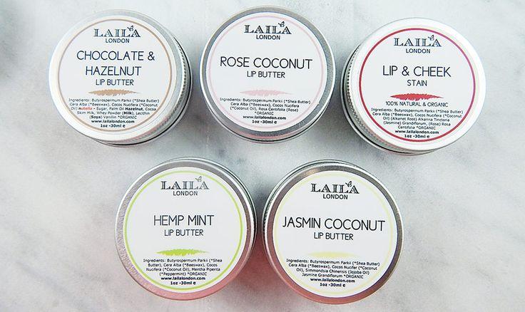 100% Natural Laila London Lip Balm