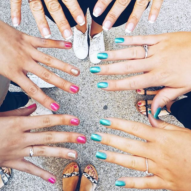 @blissandme Nail training session 💅  lovely team❤and Shellac nails🌸  -  ----------------------------------------------------------------------- #aurillac #trainingweek #itstylemakeup #newstore #womanlife #owncompanymanager #businesstrip #beautyshoplocationbusiness #itstylegirls #itstylemakeup #italianstyle #itstyle #foundation #denimdaze #cosmétiques #baràmakeup #baràongles #baràsourcils #maquillage #makeup