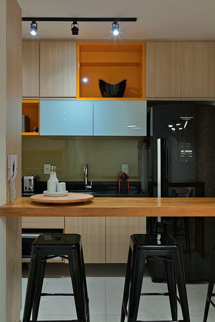 Cuisine de style de style Minimaliste par Lucas Lage Arquitetura