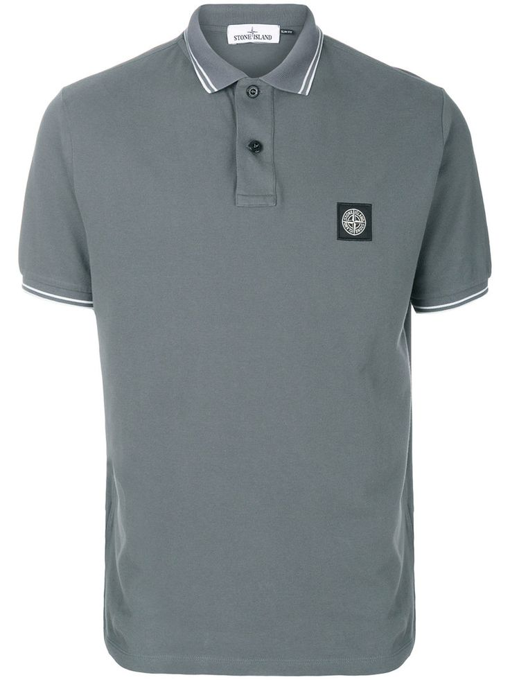 STONE ISLAND STONE ISLAND - POLO SHIRT WITH LOGO . #stoneisland #cloth #