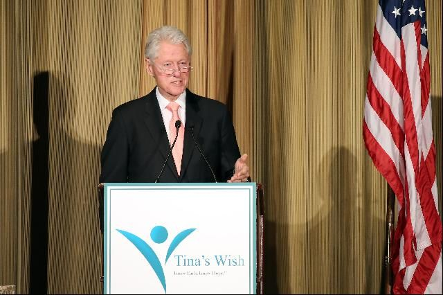 Bill Clinton Speaks About Science And Cancer Research At Charity Event - Forbes