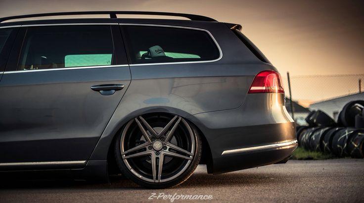 Vw passat B7  Accuairsuspension Z performance wheels