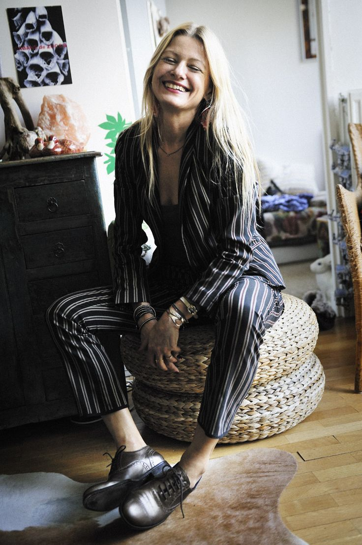 Isabelle Thomas, fashion stylist, journalist and our Partner of French Rendez Vous. www.frenchrendezvous.com
