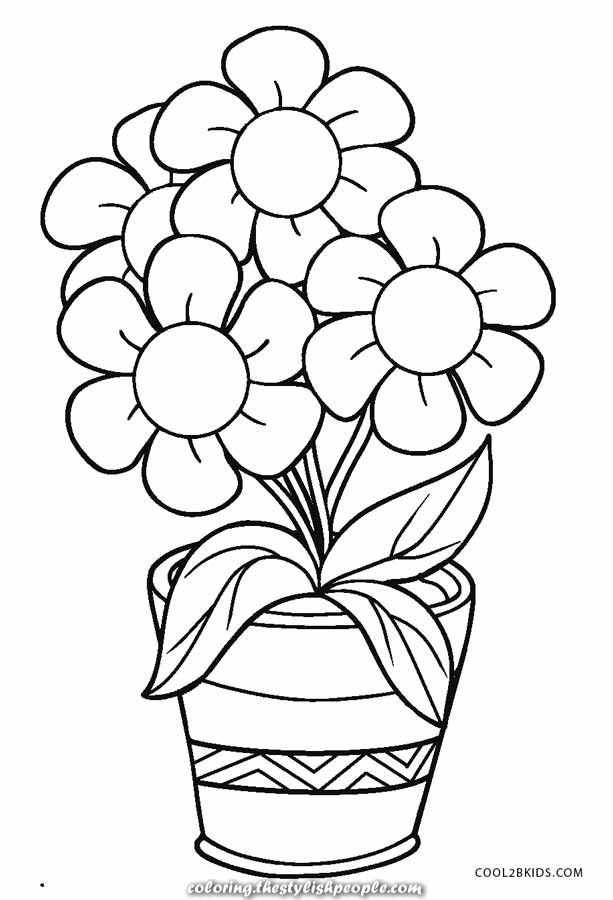 Legendary Coloring Pages Without Cost Printable Flowers For