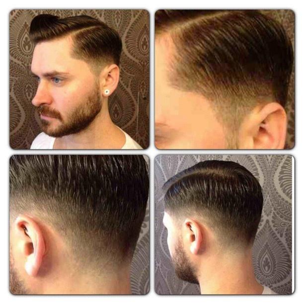 Side part. Low fade. Lando's next cut!