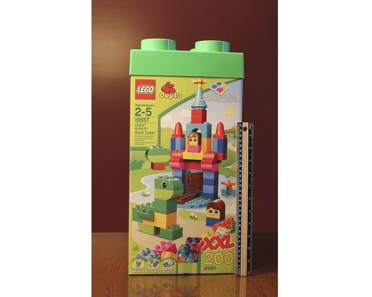 Lego DUPLO 10557 Giant Tower XXL 200 Pieces with Storage Box NEW