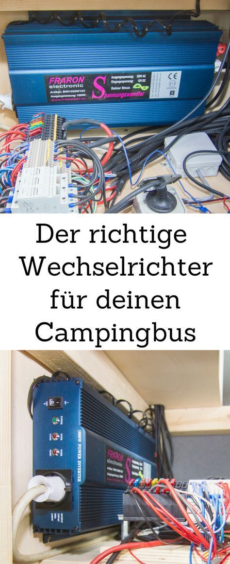 vw t5 ausbau die elektrik im vw bus camper. Black Bedroom Furniture Sets. Home Design Ideas
