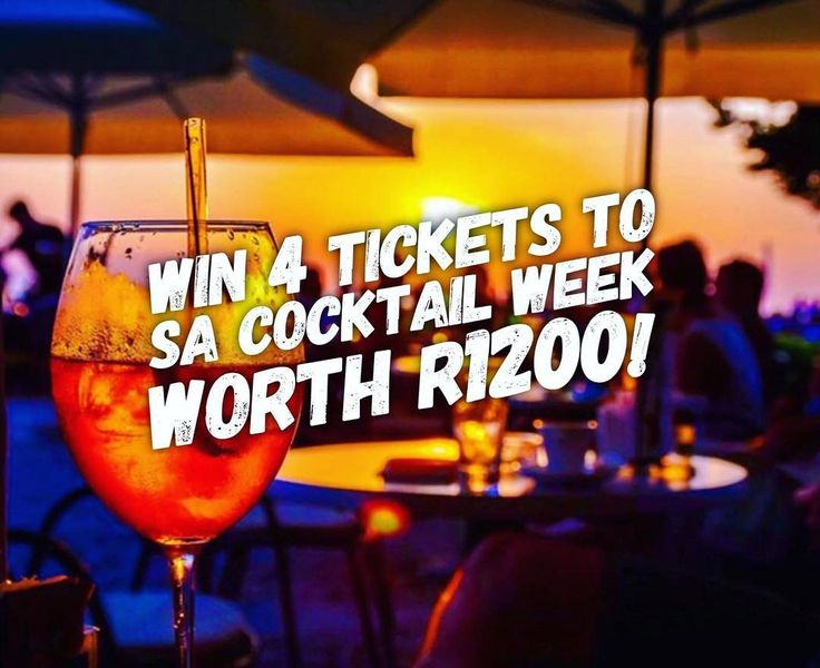 COMPETITION TIME | If youre a fan of cocktails then this is for you! Enter to win four tickets to @sacw_sip valued at R300 each! Entering is simple - head on over to our website (link in bio) and fill in the entry form.   Tagging three friends that you wanna take with you on cocktail adventures in the comments is one of the ways to enter.   Good luck!