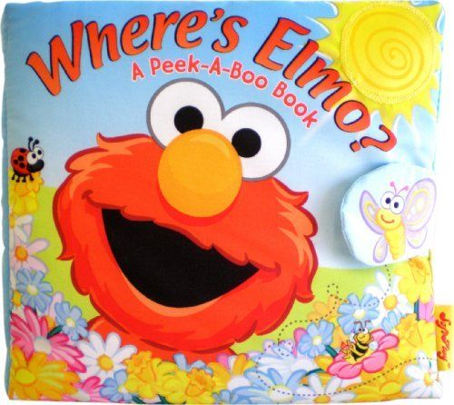 softplay peek a boo where 39 s elmo a children 39 s book by