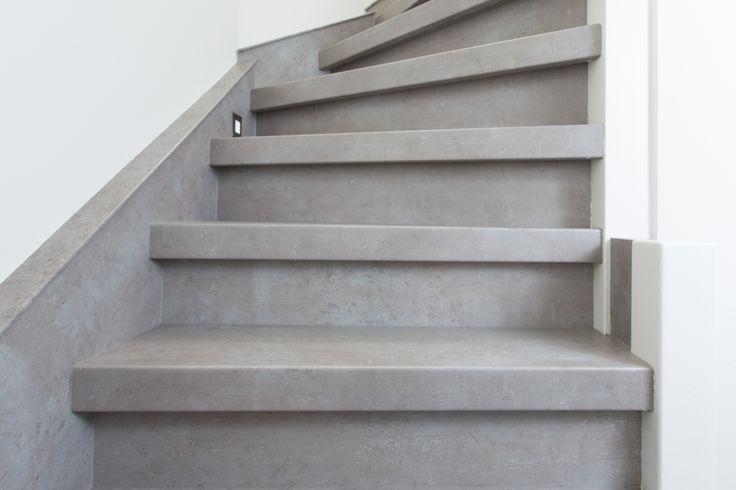 Stairz Traprenovatie - Beton grijs